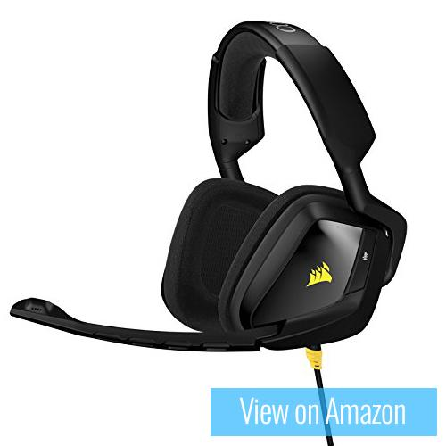 Best gaming headset 7 : Corsair VOID Stereo Carbon Analog Headset