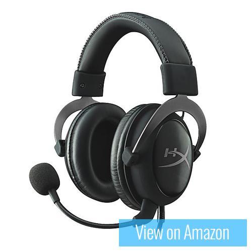 Best gaming headset 2 : Kingston Hyper X Cloud II
