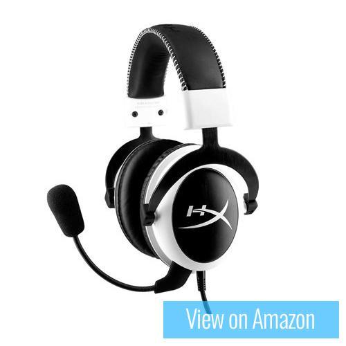 Best gaming headset 4 : Kingston HyperX Cloud - White