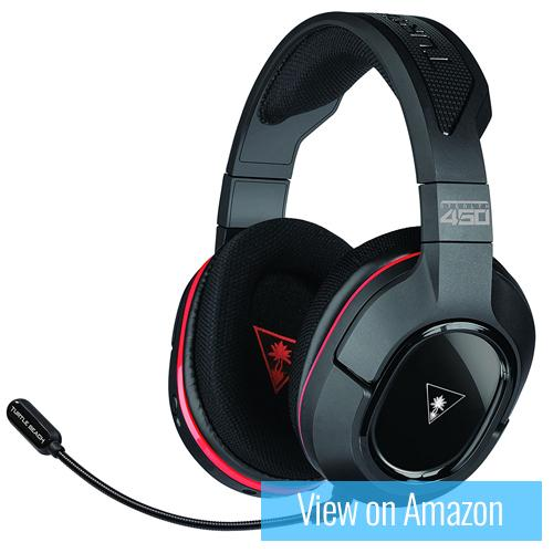 Best gaming headset 10 : Turtle Beach Stealth 450 Wireless Gaming Headset